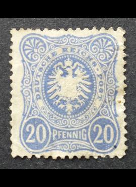 Vokietijos Reichas MiNr 42 MNG (*)