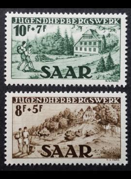 Saras, pilna serija MiNr 262-263 MLH*