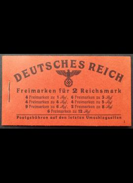 Vokietijos Reichas, kišeninė knygelė Nr 48.3, pilnas komplektas MiNr 781-786, 788 MNH**