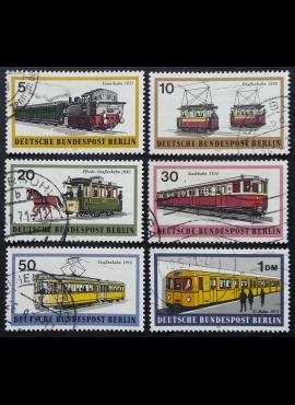 Vokietija, Vakarų Berlynas, pilna serija MiNr 379-384 Used (O)