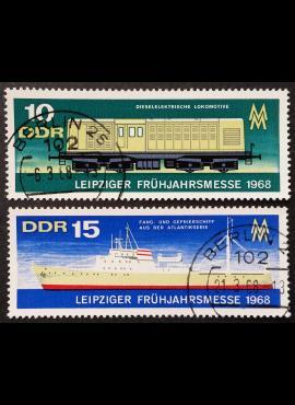 Vokietijos Demokratinė Respublika (VDR), pilna serija MiNr 1349-1350 Used (O)