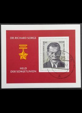 Vokietijos Demokratinė Respublika (VDR), blokas Nr. 44 MiNr 2115 Used (O)