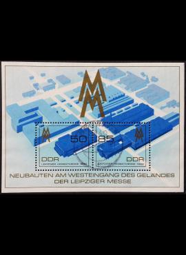 Vokietijos Demokratinė Respublika (VDR), blokas Nr. 99 MiNr 3267-3268 Used (O)