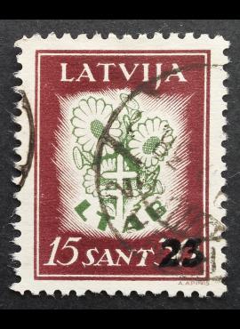 Latvija, MiNr 186 Used (O)