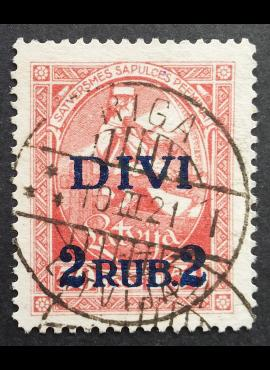 Latvija, MiNr 64 Used (O)