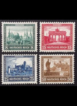 Vokietijos Reichas, pilna serija MiNr 450-453 MLH*