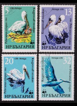 Bulgarija, pilna serija MiNr 3008-3011 Used (O)