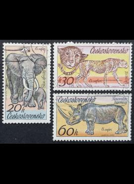 Čekoslovakija MiNr 2346-2347, 2349 Used (O)