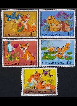 Vengrija, ScNr 2759-2761, 2764-2765 Used (O)