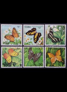 Kuba, pilna serija ScNr 2478-2483 Used (O)