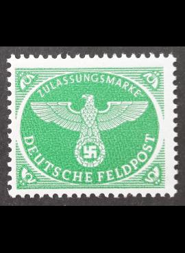 Vokietijos Reichas, oro paštas, MiNr 4 MNH**
