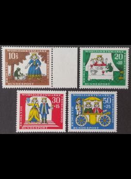 Vokietija, pilna serija MiNr 523-526 MNH**
