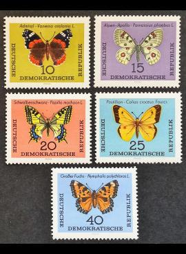 Vokietijos Demokratinė Respublika (VDR), pilna serija MiNr 1004-1008 MNH**