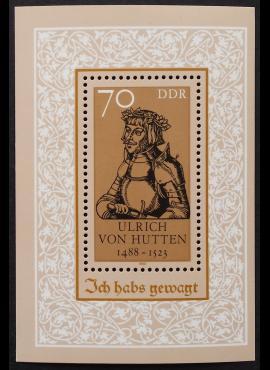 Vokietijos Demokratinė Respublika (VDR), blokas Nr. 93 MiNr 3167 MNH**