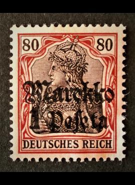 Vokietijos Reichas, Užsienio ir kolonijų paštas, Marokas MiNr 54 MH*