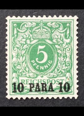 Vokietijos Reichas, Užsienio ir kolonijų paštas, Turkija MiNr 6 MNG (*)