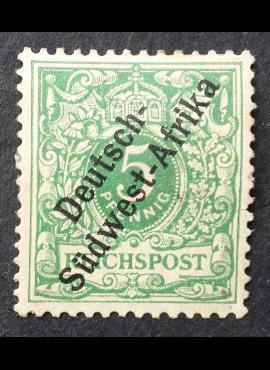 Vokietijos Reichas, Užsienio ir kolonijų paštas, Vokietijos Pietvakarių Afrika MiNr 2 MNG (*)