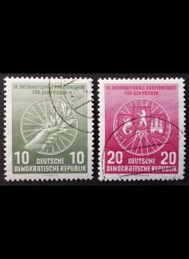 Vokietijos Demokratinė Respublika (VDR), pilna serija MiNr 521-522 Used (O)