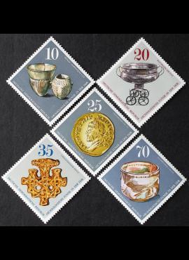 Vokietijos Demokratinė Respublika (VDR), pilna serija MiNr 2182-2186 MNH**