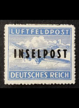 Vokietijos Reichas, oro paštas, MiNr 8 BII MNG (*)