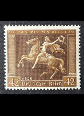 Vokietijos Reichas, MiNr 671 MLH*