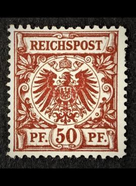 Vokietijos Reichas MiNr 50 MNG (*)