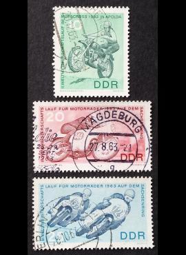 Vokietijos Demokratinė Respublika (VDR), pilna serija MiNr 972-974 Used (O)