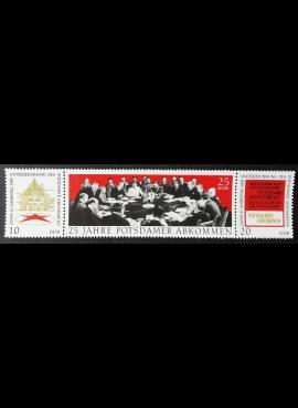 Vokietijos Demokratinė Respublika (VDR), pilna serija MiNr 1598-1600 MNH**