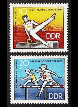 Vokietijos Demokratinė Respublika (VDR), pilna serija MiNr 1594-1595 MNH**