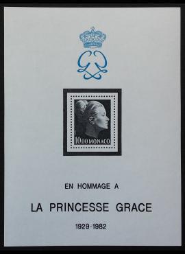 Monakas, Blokas Nr. 22, MiNr 1577 MNH**