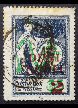 Latvija, MiNr 63a Used (O)