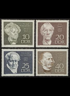 Vokietijos Demokratinė Respublika (VDR), pilna serija MiNr 1440-1443 MNH**