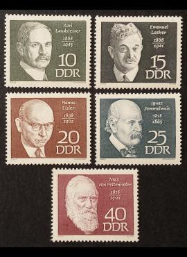 Vokietijos Demokratinė Respublika (VDR), pilna serija MiNr 1386-1390 MNH**