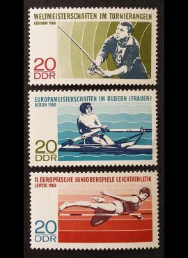 Vokietijos Demokratinė Respublika (VDR), pilna serija MiNr 1372-1374 MNH**