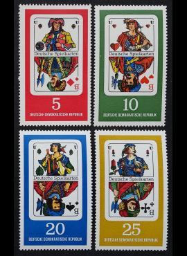 Vokietijos Demokratinė Respublika (VDR), pilna serija MiNr 1298-1301 MNH**