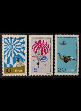 Vokietijos Demokratinė Respublika (VDR), pilna serija MiNr 1193-1195 MNH**
