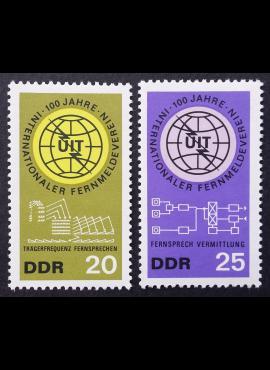 Vokietijos Demokratinė Respublika (VDR), pilna serija MiNr 1113-1114 MNH**