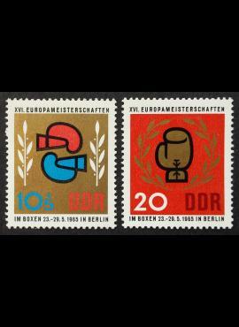 Vokietijos Demokratinė Respublika (VDR), pilna serija MiNr 1100-1101 MNH**