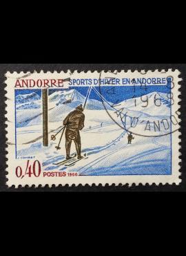 Andora (prancūzų), MiNr 196 Used (O)