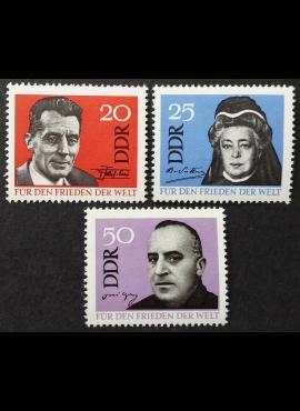 Vokietijos Demokratinė Respublika (VDR), pilna serija MiNr 1049-1051 MNH**