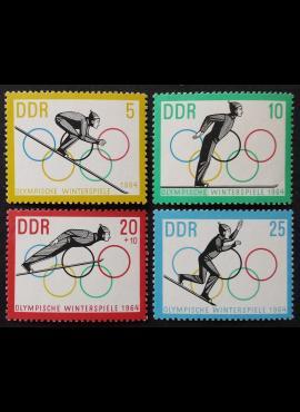 Vokietijos Demokratinė Respublika (VDR), pilna serija MiNr 1000-1003 MNH**