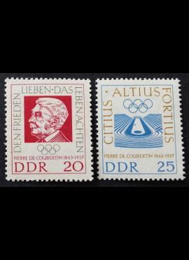 Vokietijos Demokratinė Respublika (VDR), pilna serija MiNr 939-940 MNH**