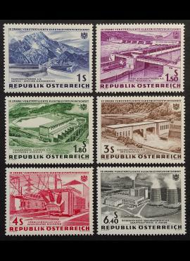 Austrija, pilna serija, MiNr 1103-1108 MNH**