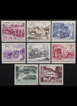 Austrija, pilna serija, MiNr 1156-1163 MNH**