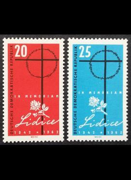 Vokietijos Demokratinė Respublika (VDR), pilna serija MiNr 891-892 MNH**