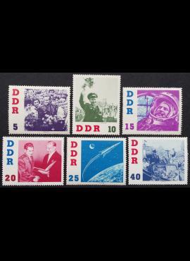Vokietijos Demokratinė Respublika (VDR), pilna serija MiNr 863-868 MNH**/MLH*