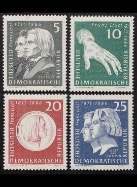 Vokietijos Demokratinė Respublika (VDR), pilna serija MiNr 857-860 MNH**