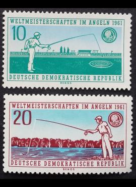 Vokietijos Demokratinė Respublika (VDR), pilna serija MiNr 841-842 MNH**
