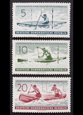 Vokietijos Demokratinė Respublika (VDR), pilna serija MiNr 838-840 MNH**