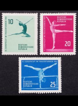 Vokietijos Demokratinė Respublika (VDR), pilna serija MiNr 830-832 MNH**